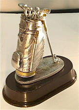 GOLF BAG ON BASE .... 71/2 INCHES TALL TROPHY