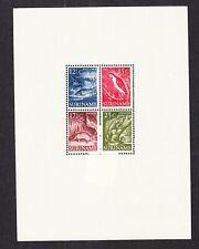 Suriname 308 blokuitgave Inheemse Dieren 1955 schitterend postfris