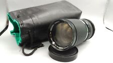 >CLOSE FOCUSING AUTO ZOOM VIVITAR f4 100-200mm Lens M42 Pentax Mount Camera WORK