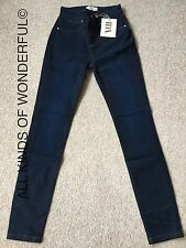IDA Rizzo Skinny Jean in Night Fever High Rise  ( Blue/Black effect)Size 24""