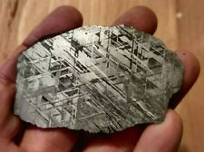 WHOA 78g complete slice of Gibeon Meteorite MUST SEE