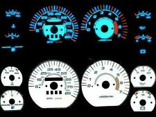 Jeep Cherokee Halo White Face Plasma Illumiglo Glow Gauges 6 Color Inverter