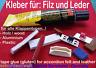 Kleber für Akkordeon Filz, Leder,Klappenbelag, gluten for accordion Felt,Leather