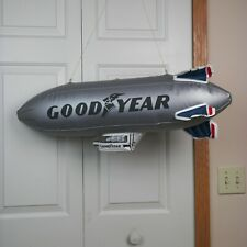 """Vintage 1970s  80s Good Year  Blimp Advertising Sign 32""""  Blow Up"""