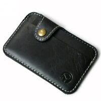 Men's Credit Cards Package Wallets ID Card Case Coin Purse Bag Pouch Card Holder