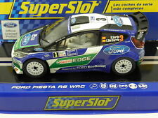 Scalextric C3433 Slot Car Ford Fiesta RS WRC No.3 Dani Sordo M. 1:32