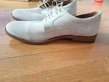 White Suede Bucks, Johnson & Murphy, 8.5M, only worn few times