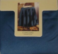 """Bess Concord Parisian Blue 70"""" round tablecloth"""