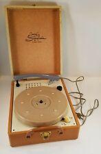 Vintage 1950s RCA Symphonic Portable Tube Record Player Model 1881