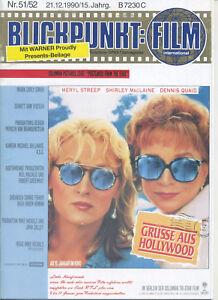 Blickpunkt Film Nr. 51/52 1990 15. Jahrgang Kino Meryl Streep MacLaine Quaid