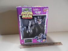 "Iron Man Argent Silver Dragon 7""in Figure w/Arm Firing Action Toy Biz"