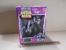 "Iron Man Argent Silver Dragon 7""in Figure w/Arm Firing Action Toy Biz"