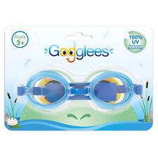 Niños Gafas de Natación 100% Protección UV Anti Niebla Revestimiento - Azul