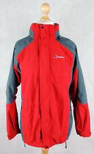 BERGHAUS GORETEX JACKET - Women's Hooded Outdoor Coat - SIZE 14 - RED