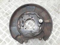 Toyota RAV4 Coupe 2/3D 2004 rear left brake disc plate dust cover petrol 110kW