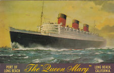"Ocean Liner , The ""Queen Mary"", Long Beach, California, 1960s"