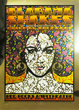 Alabama Shakes - Chuck Sperry - MIRROR FOIL - AP #/20 - Red Rocks, CO