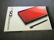 Nintendo DS Lite Red Handheld Console New Open Box
