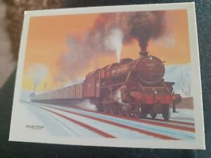 John Player Tom Thumb History of Britains Railways card No 25 - LMS Class 5
