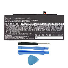 """26S1004 58-000065 Battery Replacement for Amazon Kindle Fire HDX 8.9"""" GU045RW"""