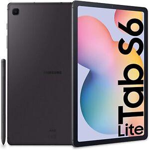 "Tablet Samsung Galaxy Tab S6 LITE SM-P610 10.4"" PEN 64GB GRAY WIFI GRADO A"