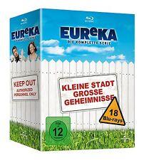 Eureka Complete Series GERMAN IMPORT BLU-RAY Box Set NEW Free Ship