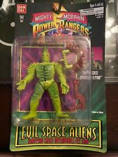 Power Rangers Series II Evil Space Alien snapping chest invenusable fly trap