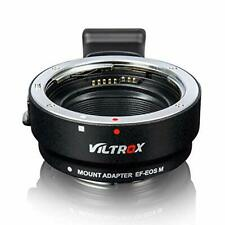 VILTROX EF-EOS M Electronic AF Auto-Focus Lens Mount Adapter Ring Converter