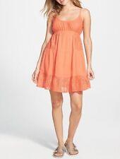 Rip Curl Dream Weave Women's Orange Short Dress Size XL