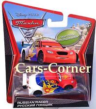 Disney Pixar Cars 2 Russian Racer - Chase Car 2011 - Ltd. Edition - NEU & OVP
