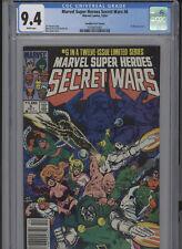 MARVEL SUPERHEROES SECRET WARS #6 NM 9.4 CGC CANADIAN PRICE VARIANT LAYTON COVER