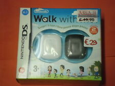 NINTENDO  DS -ACCESSORI- WALK WITH-ritmo passo dopo passo-INCLUDE 2 MISURATORI