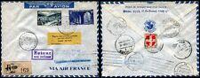 1949 - Aerogramma - Ripresa delle relazioni postali via aerea PARIGI-MONACO