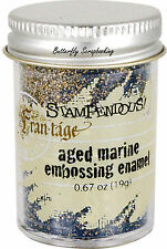 Embossing Powder .62oz Jar STAMPENDOUS SPRING SPARKLE BLUE New EP527