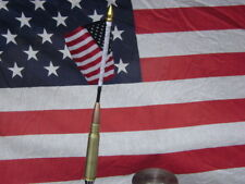 50 cal bmg BULLET kegerator tap keg handle with flag 4X6