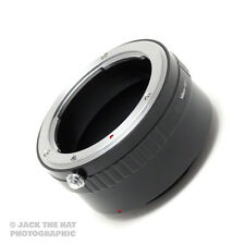 Pro Nikon to Sony E-Mount Adapter Ring. Use Nikon F Lenses on Sony NEX Cameras.