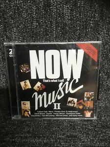NOW THAT'S WHAT I CALL MUSIC II NO. 2 [CD] NEW & SEALED. Freepost In Uk