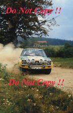 Walter Rohrl OPEL KADETT GT/E SACHS Inverno Rally 1976 fotografia 1