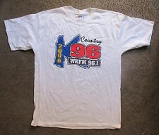Wkfm-Country 96.1 K96 Xl T-Shirt-Xl-Heavy Duty Cotton-From 2000 New-Ex.Con. Rare