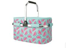 Igloo Party Coolbag Basket - watermelon design