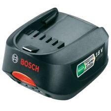 Baterías y cargadores Bosch de iones de litio (li-ion) 18V para herramientas eléctricas de bricolaje