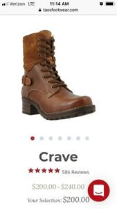 Taos Crave Boots size 8.5/39