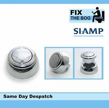 SIAMP Storm 33a Replacement  Chrome Plated Single Flush Button B&Q Homebase