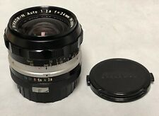 Nikon Nikkor-N 24mm f2.8 non AI lens F mount 85% condition