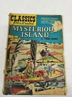Classics Illustrated Comic Book Mysterious Island HRN 60 (bb28) (dd)