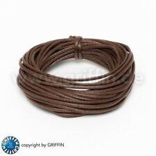 1.1mm// 100cm Baumwollband Baumwolle Band braun 11-999-01