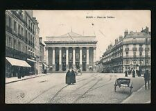 France Burgundy DIJON Place du Theatre PPC Used 1909