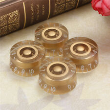 Gold Guitar Speed Control Knobs 4pcs For Gibson Les Paul Guitar Part replacement