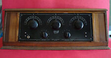 1920's KISMET Radio TEL. & TEL. Co INC. New York 5 Tubes Short Wave Radio