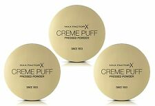 3 x Max Factor Creme Puff Pressed Powder - 41 Medium Beige